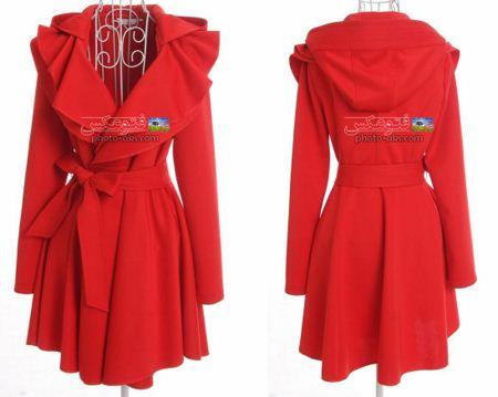 مدل پالتو شیک قرمز 2013 model palto shik jadid