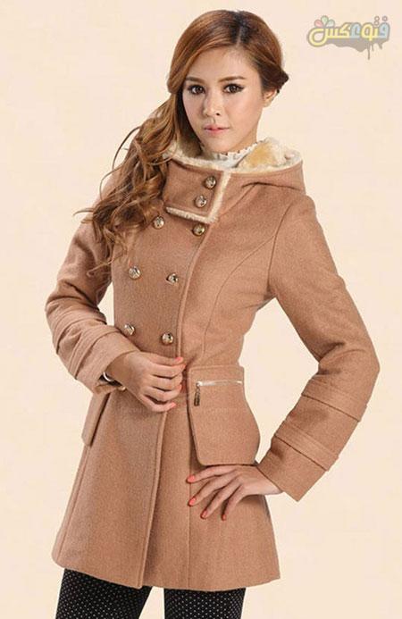 مدل پالتو دخترانه کره ای شیک palto korei shik
