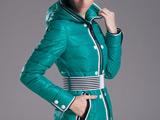 مدل کاپشن بادگیر دخترانه سبز