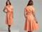 مدل لباس مجلسی نارنجی