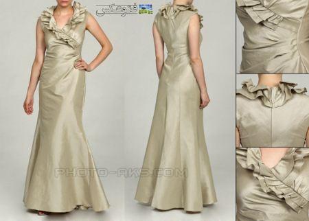 لباس مجلسی زنانه بلند lebas majlesi zanane
