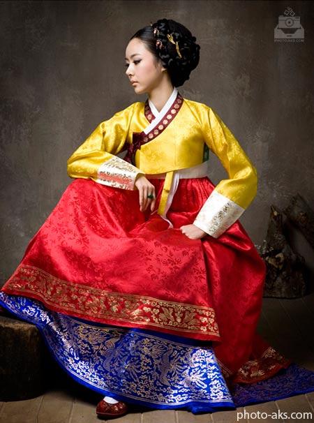 لباس های مجلسی کره ای  hanbok korean dress