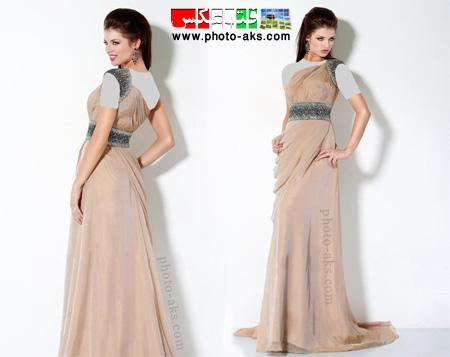 لباس مجلسی ایتالیایی بلند italian prom dress