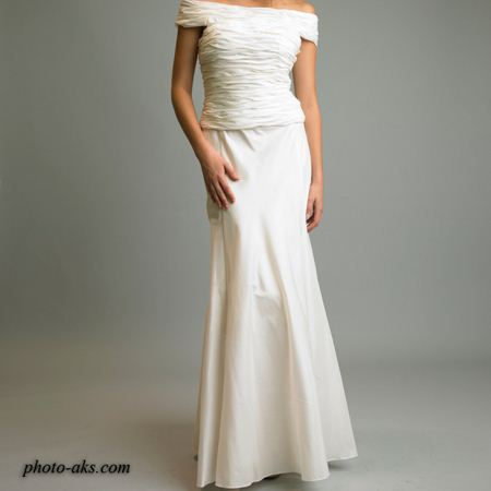 مدل لباس مجلسی سفید model lebas majlesi