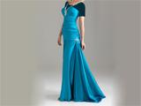 لباس مجلسی آبی مدل 2012