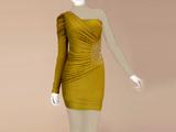مدل لباس کوتاه شب رومی