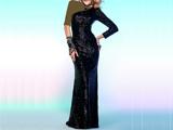 مدل ایتالیایی لباس مجلسی مشکی