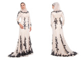 لباس مجلسی زنانه پوشیده اسلامی