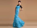 لباس مجلسی بلند آبی 2014