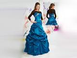 لباس مجلسی آبی پف