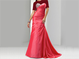 لباس زنانه مجلسی بلند قرمز
