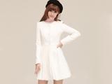 لباس مجلسی دخترانه سفید