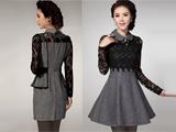 لباس مجلسی آستین بلند کره ای
