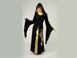 لباس مجلسی عربی سیاه