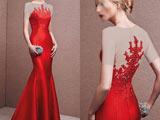 لباس مجلسی جدید قرمز 2018