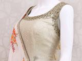 لباس مجلسی گلدوزی شده هندی