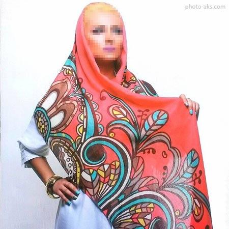 مدل شال رنگی دخترانه 95 shaal rangi dokhtaraneh