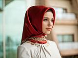 مدل روسری رسمی و اداری