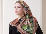 مدل روسری مجلسی طرح دار