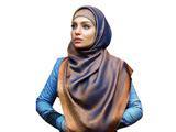 مدل روسری دو رو پنبه ابریشم