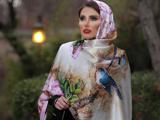 مدل روسری بلند طرحدار