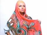 مدل شال رنگی دخترانه 95