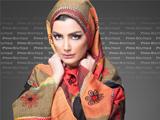 مدل شال بلند پوشیده اسلامی