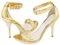 کفش طلایی زنانه