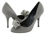 کفش زنانه طوسی شیک