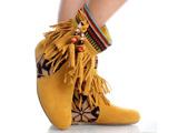 مدل نیم بوت اسپرت زرد دخترانه