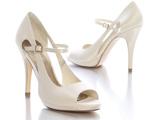 کفش زنانه مجلسی پاشنه بلند سفید