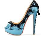 مدل 2012 کفش زنانه فیروزه ای