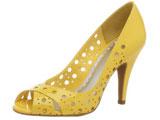 مدل 2012 کفش دخترانه زرد