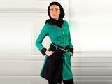 مدل مانتو سبز دخترانه
