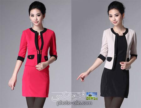 مدل کت دامن کره ای korean suit skirt