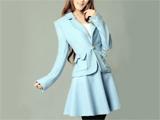 مدل کت دامن آبی زمستانی