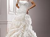 لباس عروس دکلته ترکیه ای