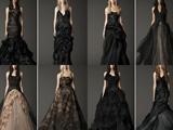 مدل لباس های عروس سیاه