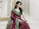 مدل ساری عروس هندی زیبا