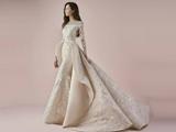 لباس عروس کرم خاص زیبا