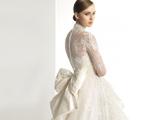 لباس عروس با پاپیون پشت