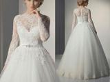 مدل لباس عروسی جدید دانتل