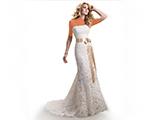 لباس عروس اروپایی شیک و ساده