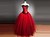 لباس عروس قرمز فشن