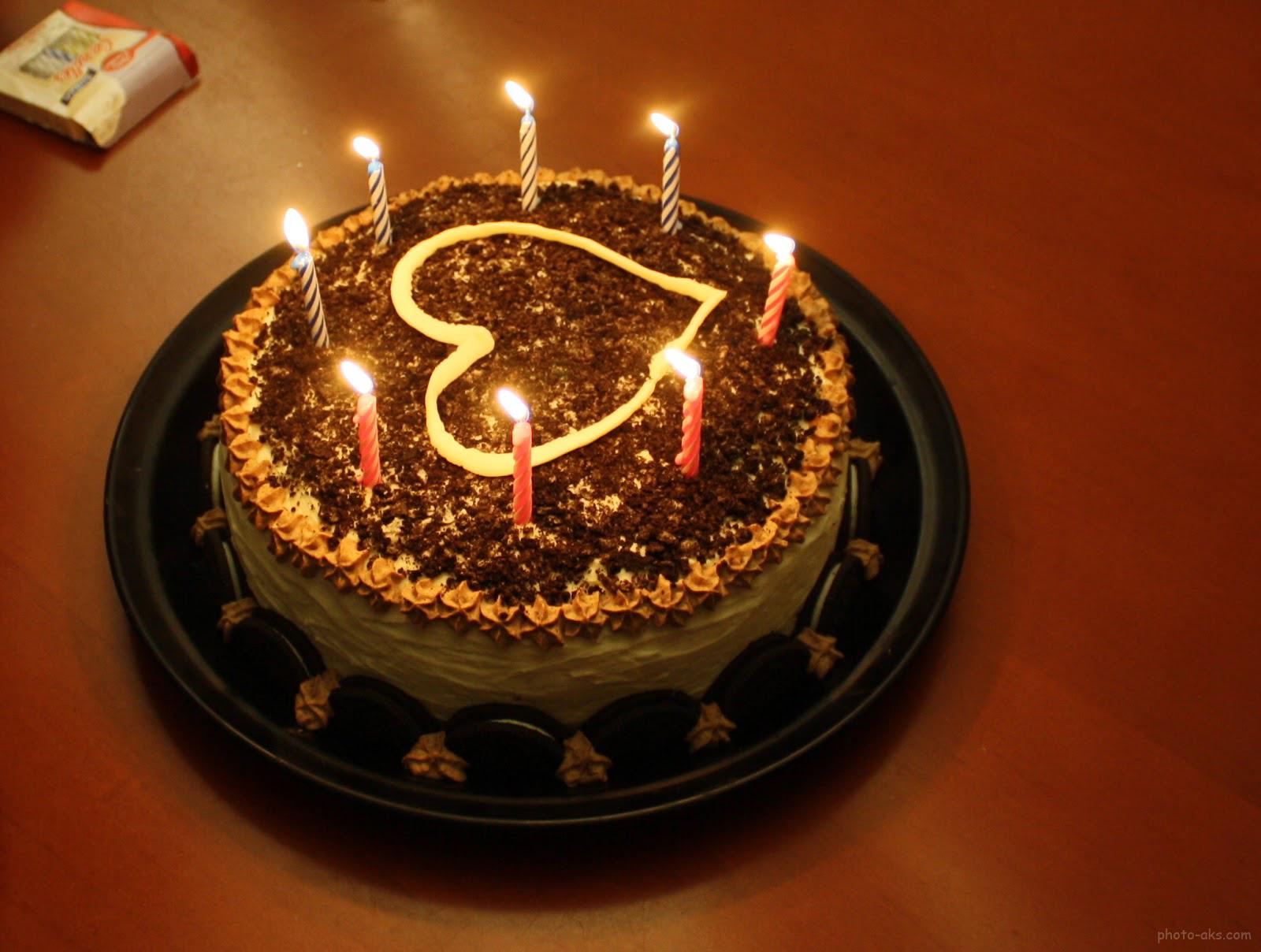 Cake For My Love Birthday : ??? ???? ?????? ??? lighting hart cake