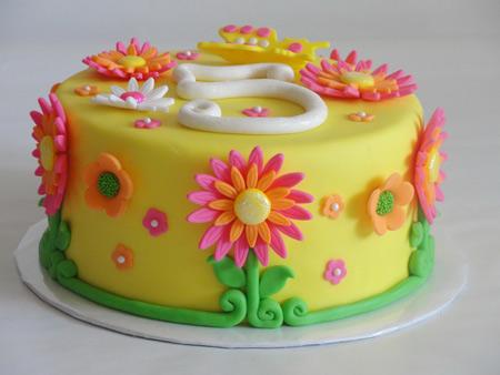 مدل تزئین کیک تولد دخترانه cake cream girl model