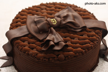 کیک تولد شکلاتی keik tavalod shokolati