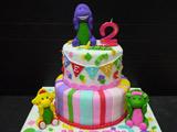 مدل کیک تولد شاد کودکانه