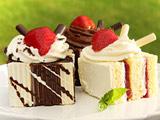 عکس کیک دسری خوشمزه