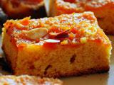 عکس کیک سیب و بادام خوشمزه